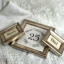 3 silver wedding frames customizable by mackenzieframes on etsy what a great idea for a