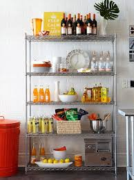 Sumptuous Design Ideas Metal Kitchen Shelves Incredible Impressive 90  Storage Cabinets Decorating