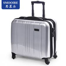 smooire pure high end luggage pc small business men and 16 inch caster travel buy pc small business