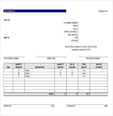 Excel Delivery 11 Delivery Order Templates Word Excel Pdf Templates