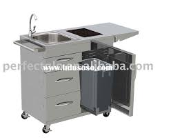 fantastic portable stainless steel sink cart t19 in creative home decoration planner with portable stainless steel