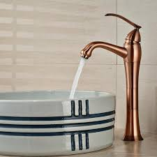 solid brass bathroom faucets. 2018 Wholesale And Retail Solid Brass Bathroom Faucet Antique Copper Vessel Sink Mixer Tap Teapot Style Single Handle Hole From Gonglangno1, Faucets X