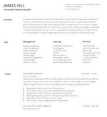 Example Hospitality Resume Inspiration Hospitality Manager Resume Related Post Assistant Hotel Manager