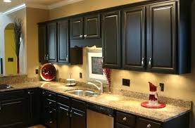 Image Oak Cabinets Vswcmdkkinfo Black Kitchen Cabinet Ideas Whirlpool Gold Gas Black Painted