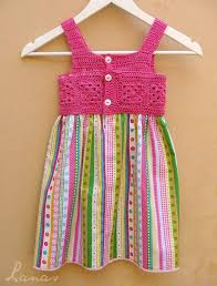 Baby Dress Patterns Classy CROCHET FABRICS BABY DRESS PATTERNS YouTube