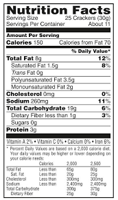 cheez it pepper jack baked snack ers grocery delivery within nutrition label for