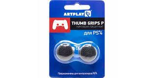 <b>Накладки Artplays Thumb</b> Grips P (черные, высокие, выпуклые ...