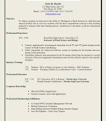 Teaching Resume Templates Delectable Beautiful Teacher Resumes Examples Elementary Resume Example Are