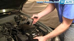 how to install replace air intake hose toyota camry lexus es300 how to install replace air intake hose toyota camry lexus es300 3 0l v6 92 96 1aauto com
