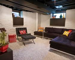 Exellent Basement Ideas With Low Ceilings Finished Ceiling 62 Images Inspiration Intended Models