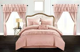 pink ruched bedding fashionable pink ruched comforter chic home piece comforter set striped ruched ruffled embossed