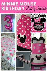minnie mouse birthday party ideas see how we used minnie at our little girls