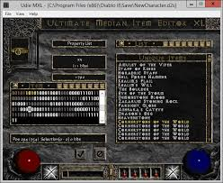 Character Item Editing And Maphack Diablo Ii Median Xl