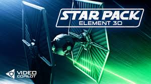 Element 3d Motion Design Pack Download Freebie Free Star Wars Model Pack From Video Copilot