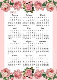 yearly printable calendar 2018 326 best free printable 2018 calendars images on pinterest drawing