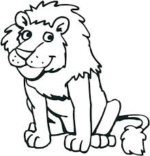 coloring zoo animal coloring pages of pioneering sheets animals page children in simple