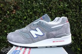 new balance 997. new balance 997 sz 13 made in usa grey blue red white m997cnr new balance