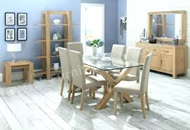 glass table and chair sets glass dining table set rectangle walnut glass top dining table and