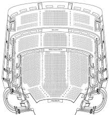 Wellmont Theater Seating Chart 51 Systematic Lyric Theater Nyc Seating View