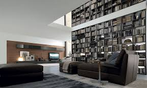 library unit furniture. View In Gallery Amazing Floor-to-ceiling Library Unit Extends All The Way Up Into Second Furniture