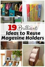 Magazine Holder Uses 100 Brilliant Ways to Organize With Magazine Holders Magazine 19