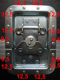 you use the short ones to put the parts on the lid locations of your case and the long ones for all the rest see the photos below for an example