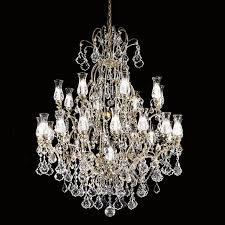 contemporary chandelier glass metal old style 3300