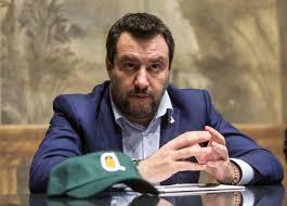 Salvini commenta l'addio di Di Maio: