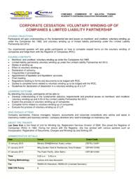 Fillable Online Ssm Com Corporate Cessation Voluntary