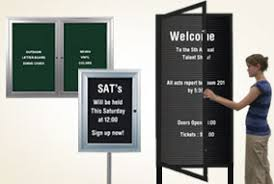Free Standing Display Board Outdoor Display Cases Com Offers The Widest Selection Outdoor 82