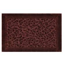 mohawk home wellington 5 x 7 bath rug in claret y3226 280 060084 mohawk home mini box memory foam