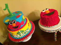 Elmo Theme 1st Birthday Cake All Cakes Are Made With Buttercream