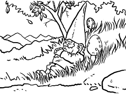 Small Picture Gnome Coloring Pages Bebo Pandco