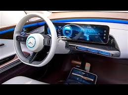 Mercedes Eq Interior In Detail New Mercedes Electric Car