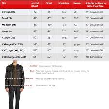 Mens Jacket Size Chart Guardians Of The Galaxy 2 Chris Pratt Jacket Film Star