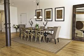 jute sisal wingback chairs dining room with wood dining table traditional standard height dining tables
