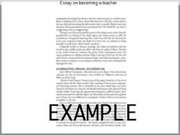 essay on becoming a teacher college paper help essay on becoming a teacher
