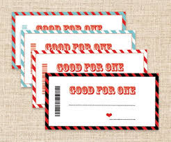 Christmas Gift Coupon Printable Coupons Last Minute Gifts Stocking Stuffers