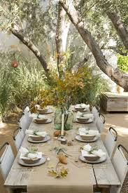 dining place settings. Fall Entertaining Ideas From A Pro. Dining TableAutumn Place Settings