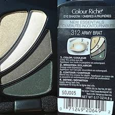 loreal color riche army brat