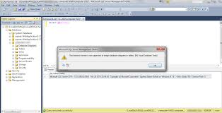database tools this backend version is not supported to design database diagrams or