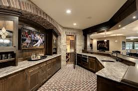 basement bar design. Wonderful Use Of Space In The Unique Home Bar Creates Perfect Man Cave! [ Basement Design G