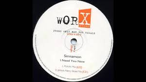 sinnamon i need you now masters at work rmx 1996 sinnamon i need you now masters at work rmx