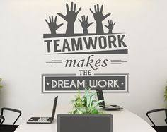 wall art for the office. Best Wall Art Office Luxury Vinyl Decal Fice Space Words Team Work Of  With For The