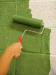 painting concrete wallsStylish Painting Concrete Walls Design