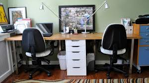 alluring person home office. Attractive Desk For 2 Regarding Computer People Home Office Furniture Two Alluring Person R