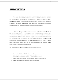 library mangement system project srs documentation doc 1 introduction the project titled library management system is library management software for monitoring and controlling