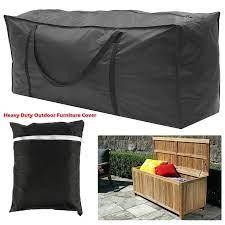 s m l outdoor cushion storage bag heavy