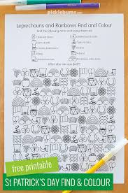 free printable st patrick s day find