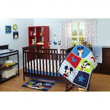 Bedroom, Minnie Mouse Crib Bedding Sets Baby Room Mickey Bumper And Batman  Infant Friends S